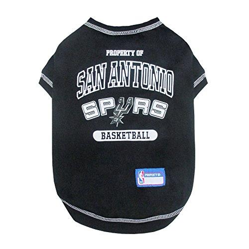 Pets First NBA San Antonio Spurs Pet Tee Shirt, Small