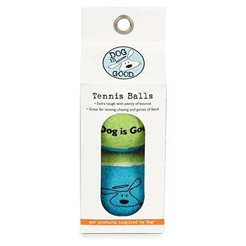 Dog is Good Tennis Balls for Dogs, 2-Pack Boxes