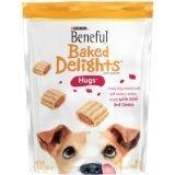 Beneful Baked Delights Dog Snacks, Hugs, 8.5 Oz Bag