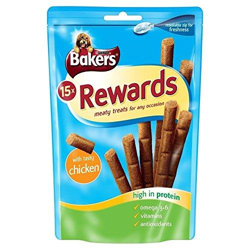Bakers Dog Rewards with Chicken (12 per pack - 100g)