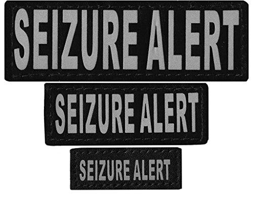 Dogline Seizure Alert Removable Velcro Patches, Small/Medium