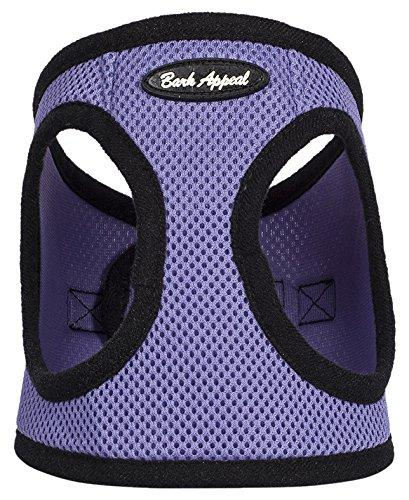 Bark Appeal Mesh Step in Harness, Small, Lavender