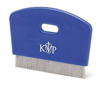 KVP Cat Flea Comb Stainless Steel Teeth with Plastic Handle