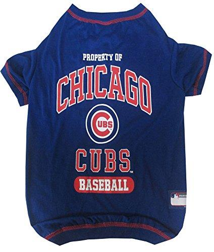 Pets First MLB Chicago Cubs Dog Tee Shirt, X-Small