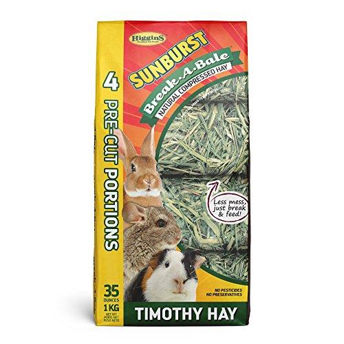 Higgins Sunburst Break-A-Bale Timothy Hay, 35 Oz., Large