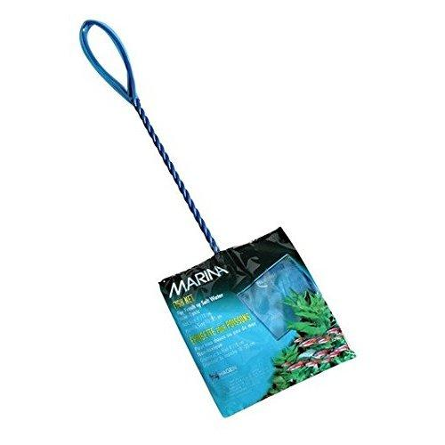 Marina 4-Inch Blue Fine Nylon Net with 10-Inch Handle