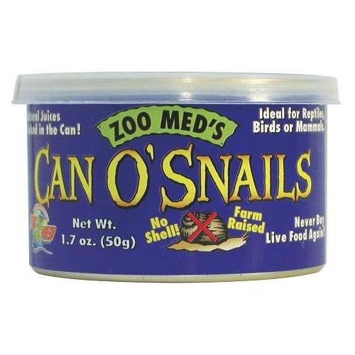 Zoo Med Can O\' Snails Turtle Food, 1.7-Ounce