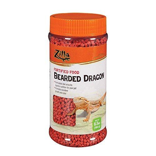 Zilla Reptile Food Bearded Dragon Fortified, 6.5-Ounce