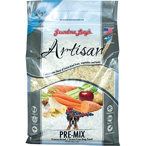 Grandma Lucy\'s Artisan Grain-Free Premix Dog Food, 3-Pound Bag