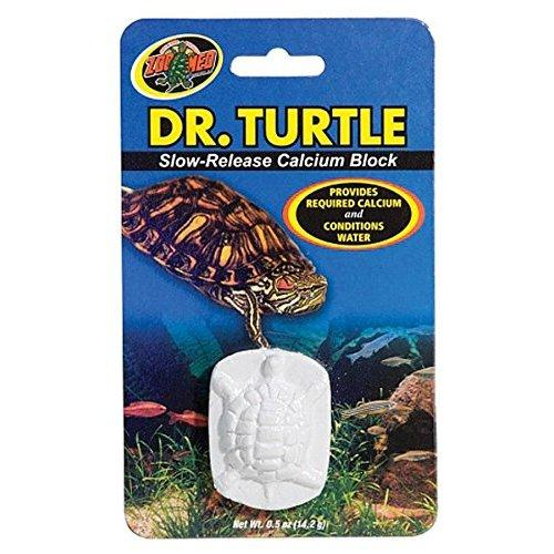 Zoo Med Laboratories SZMMD11 Dr. Turtle Slow-Release Calcium Block, Net WT .5 oz