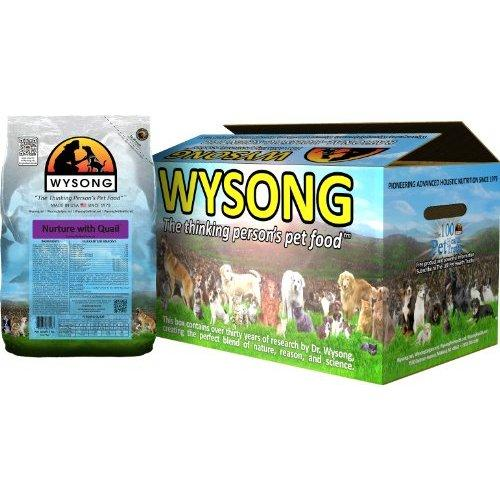 Wysong Nurture with Quail Canine/Feline Formula Dog/Cat Food, Four-5 Pound bags