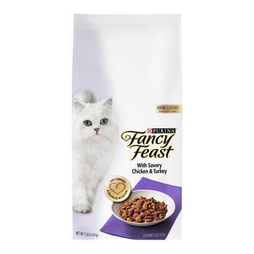 Fancy Feast with Savory Chicken & Turkey Cat Food 7 lb. Bag
