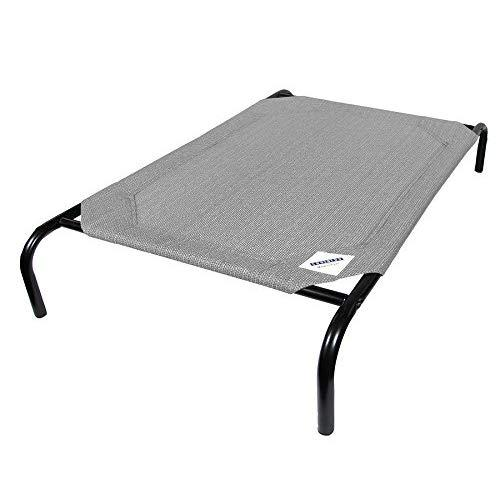 Gale Pacific Coolaroo Pet Bed, Elevated Pet Bed, Raised, Cooling, Washable, Indoor Or Outdoor Dog Bed Or Cat Bed, Small (Xs) (Sm), Gray