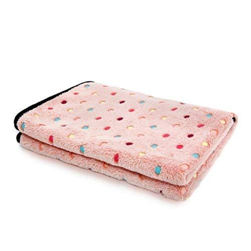 Pawz Road Pet Dog Blanket Fleece Fabric Soft And Cute Pink S