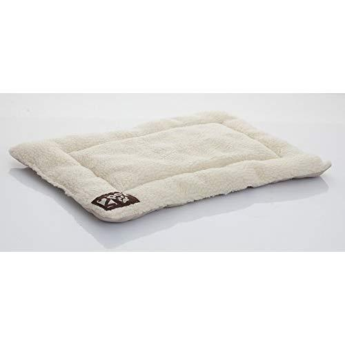 2Pet Crate Pad Comfy Cushion By Ultra Soft Breathable Crate Mat - Machine Washable And Safe Bed For Dogs, Cats - Lightweight Nap Pad For Dog Kennels And Pet Carriers - Large