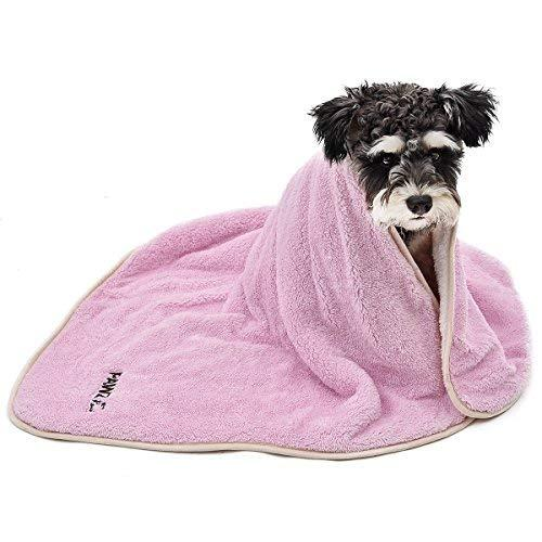 Pawz Road Dog Blanket Fluffy Skin-Friendly And Warm,Double-Sided,No Shedding For Cats Dogs And Small Animals Pink