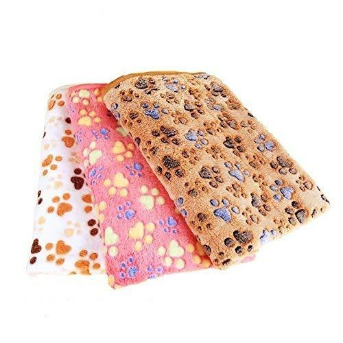 Highrock Pet Blanket For Small Cats $ Dogs Thick Sleep Mat, Pet Dog Cat Puppy Kitten Soft Blanket Doggy (S, Pink)
