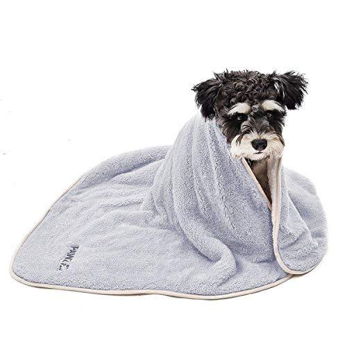 Pawz Road Dog Blanket Fluffy Skin-Friendly And Warm,Double-Sided,No Shedding For Cats Dogs And Small Animals Grey