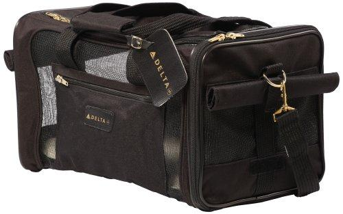 Sherpa Travel Delta Air Lines Approved Pet Carrier, Medium, Black