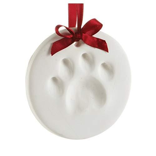 Pearhead Pet Paw Prints Dog or Cat Paw Print Hanging DIY Keepsake, Holiday