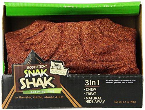 Ecotrition Snak Shak Small Activity Log For Hamsters, Gerbils, Mice And Rats