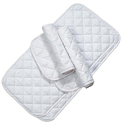 Imported Horse & Supply Quilted Leg Wrap White 12 In. 4 Pack