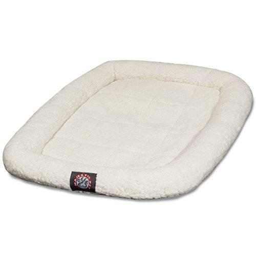 48 Inch Sherpa Crate Pet Bed Mat By Majestic Pet Products