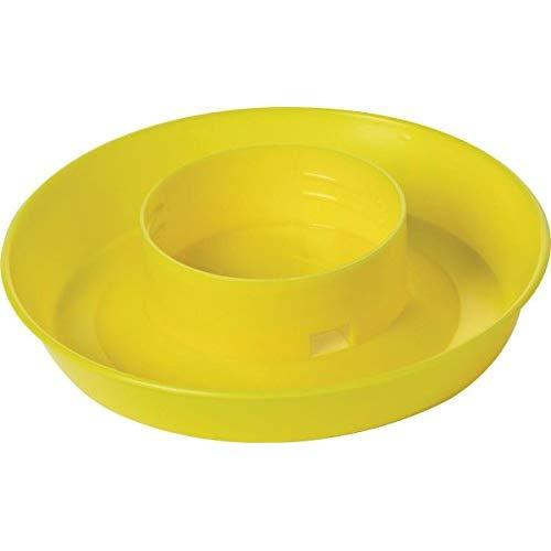 Little Giant Screw On Poultry Water Base - 1 Quart Color: Yellow