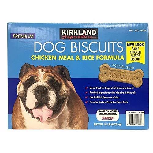 Super Premium Dog Biscuits Two Flavor Variety 15Lb