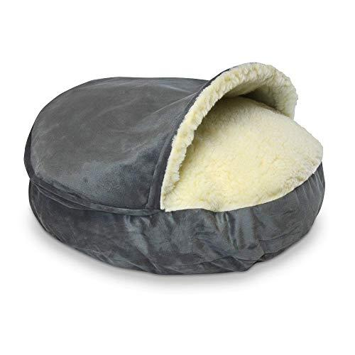 Snoozer Luxury Cozy Cave Pet Bed, X-Large, Anthracite