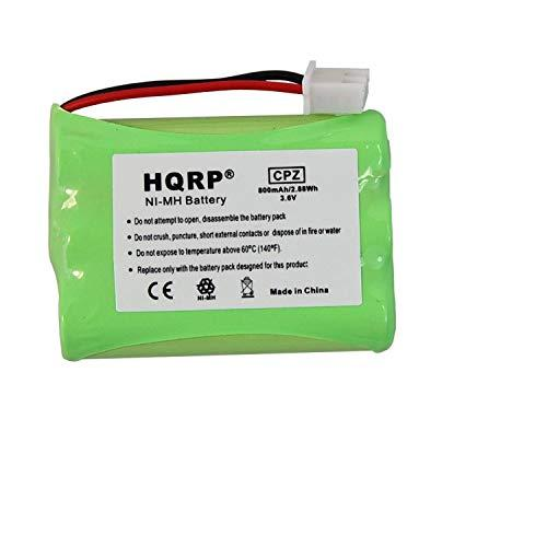 HQRP Battery Compatible with Tri-tronics 1038100 1107000 CM-TR103 1038100-D 1038100-E 1038100-F 1038100-G Replacement Remote Controlled Dog Training Collar Receiver