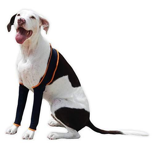 H4Legs Dog Leggings, Medium, Navy Blue