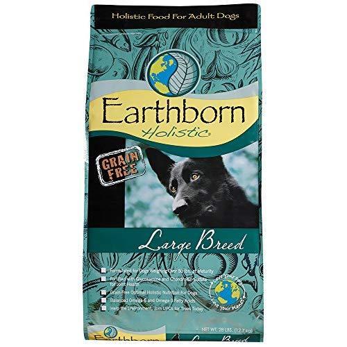 Earthborn Holistic Large Breed Grain Free Dry Dog Food, 28 Lb.