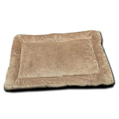 Happycare Textiles Hct Mat-001 Solid Super Touch Micro Mink Dog And Pet Mat, 42 By 28-Inch, Brown