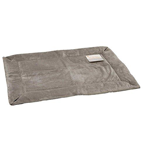 K and H Manufacturing KH Mfg Self-Warming Gray Dog Crate Pad 21x31