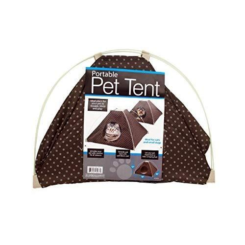 Kole Ki-Of413 Portable Pet Tent With Soft Fleece Pad, One Size