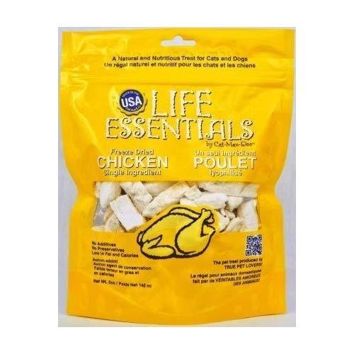 Cat Man Doo Life Essentials Freeze Dried 5 Oz. Flavor:Chicken Size:Pack of 3