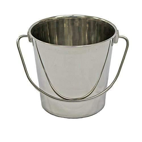 Fuzzy Puppy Pet Products Hdp-4 Heavy Duty Pail With Handle, 4 Quart