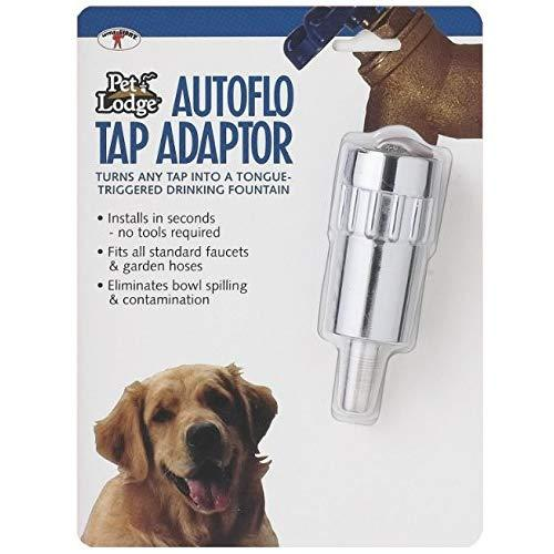 Automatic Waterer Autoflo Faucet Tap Adaptor Dog Pet Water Fountain Waterer
