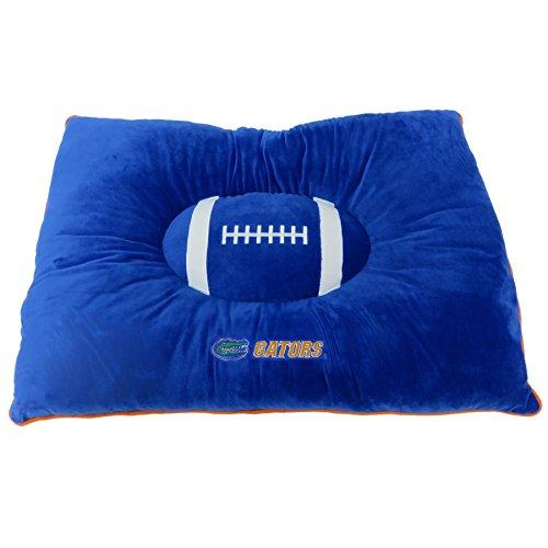 Pets First Collegiate Pet Accessories, Dog Bed, Florida Gators, 30 X 20 X 4 Inches