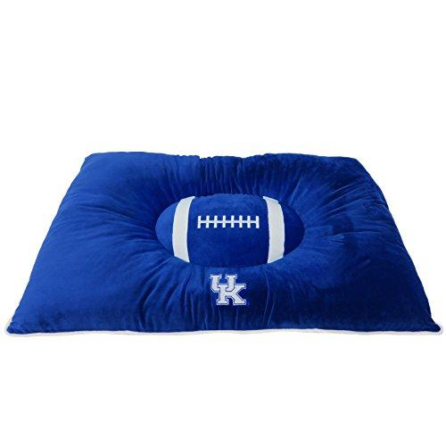 Pets First Collegiate Pet Accessories, Dog Bed, Kentucky Wildcats, 30 X 20 X 4 Inches