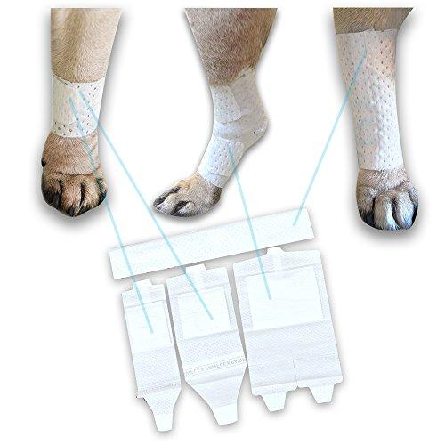 Pawflex Bandages, Non-Adhesive, Disposable, Washable And Reusable First Response Care Kit For Legs
