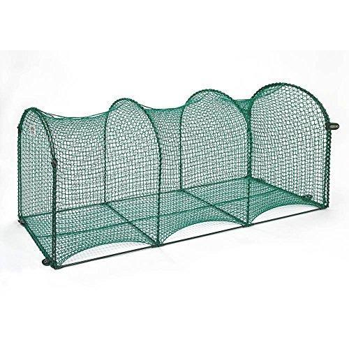 Kittywalk Deck & Patio Outdoor Cat Enclosure - 72X18X24,Green
