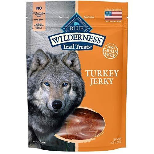 Blue Buffalo Wilderness Jerky Dog Treat Turkey