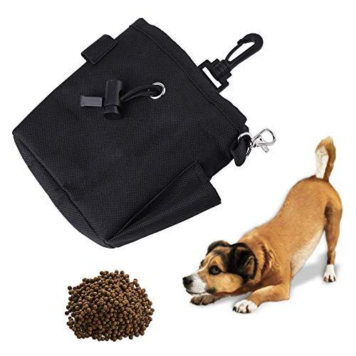 Pet Treat Bag Dog Obedience Training Waist Pouch Food Snack Bag For Small Items And Food Storage Black Waist Bag