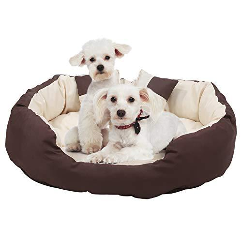 Long Rich 603051333389 Oval Large Pet Bed, By Happycare Textiles