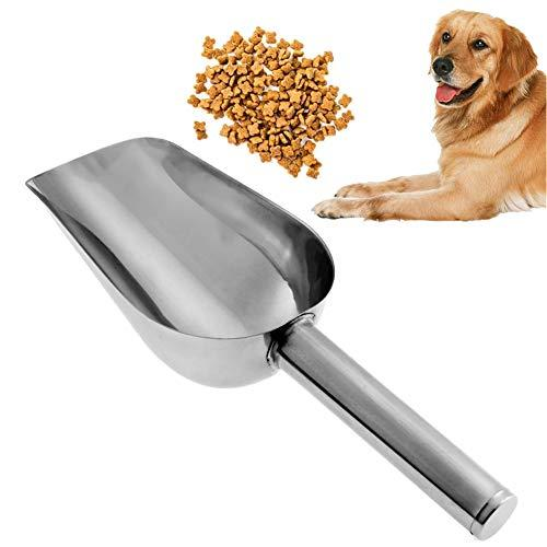 Stainless Steel Pet - Stainless Steel Pet Food Shovel Feed Thickening Dog Scoops - Bowls Usa Lid Dispenser Container Necklace Tub Comb Charms Scissors