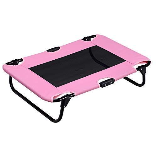 Key Point Portable Folding Pet Cot Rest Bed For Pets Up To 50 Lbs, Space-Saving Easy To Clean Up 29.9 X 23.2 X 6.7 Inches ϼ