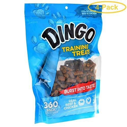 Dingo Training Treats 360 Pack - Pack Of 4