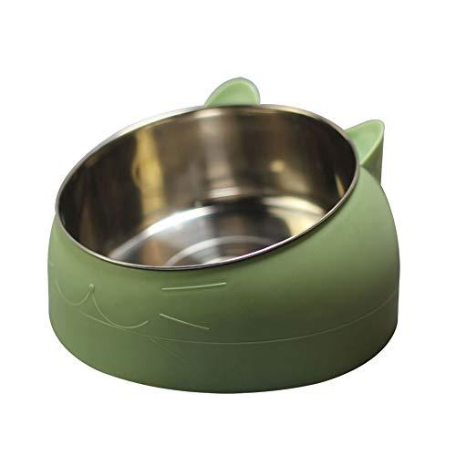 Wdoit 5 Colour Stainless Steel Pets Dog Bowl Travel Food Bowls For Cats Dogs Outdoor Drinking Water Pet Dog Dish Feeder Tableware